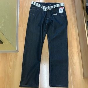 MECCA MENS NEW JEANS STRAIGHT FIT (36/34)